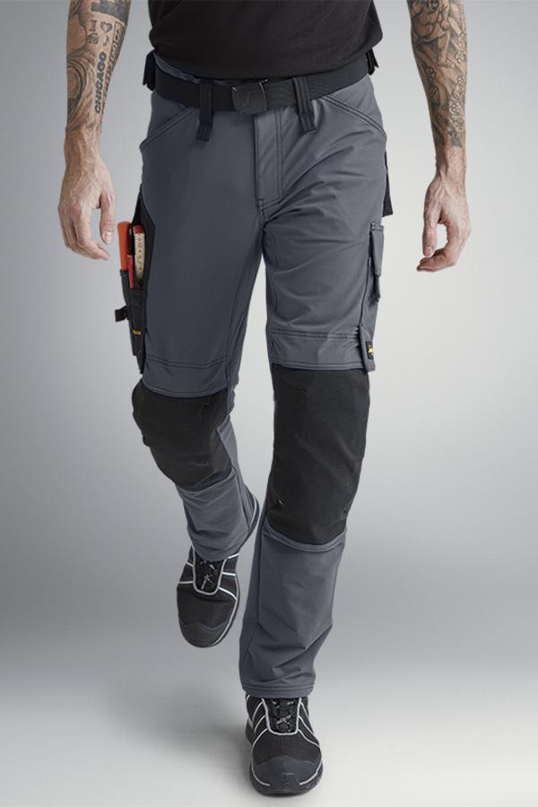 44 69038704044 1 pz Snickers work wear Flexi work lavoro quedane Camouflage-grigio